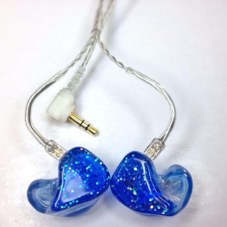 in-ears blue