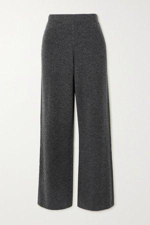 JOSEPH Knitted wide-leg pants
