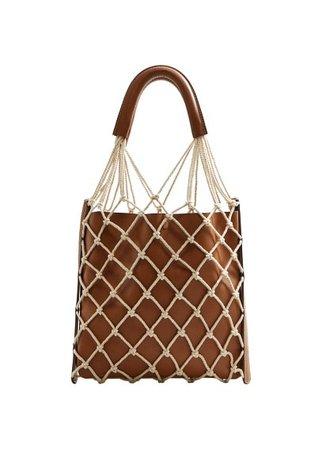 Violeta BY MANGO Combined net bag
