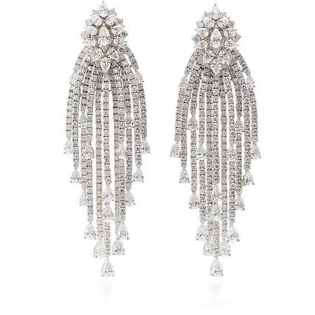 Moonnight Diamond Chandelier Earrings | Moda Operandi