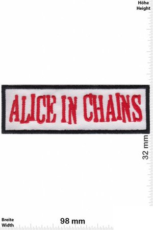 Alice In Chains Grunge Band Patch Badge Embroidered Iron on | Etsy
