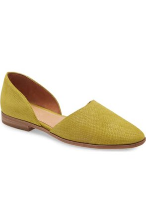 Madewell The Marisa d'Orsay Flat (Women)   Nordstrom