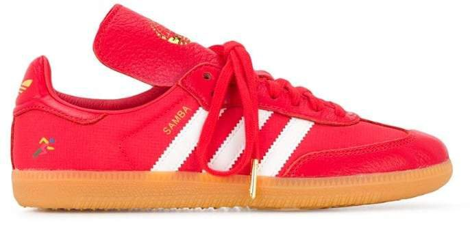 samba leather trainers
