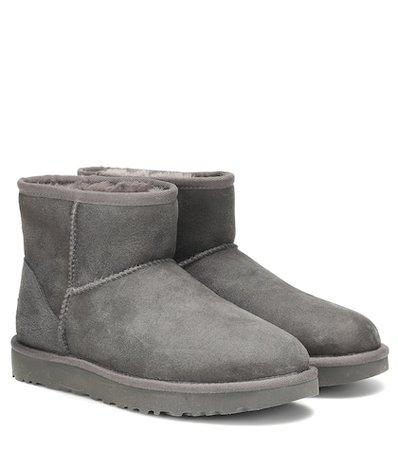 Classic Mini II suede boots