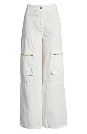 Topshop Safra Wide Leg Trousers | Nordstrom