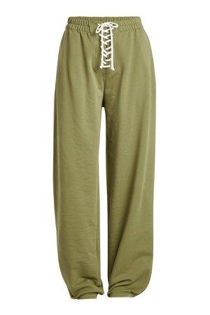 Lace-Up Sweatpants with Cotton Gr. XS