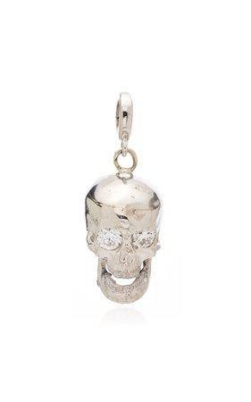 Luis Morais Skull Charm