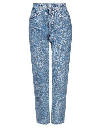Dolce & Gabbana Denim Pants - Women Dolce & Gabbana Denim Pants online on YOOX United States - 42760414BL