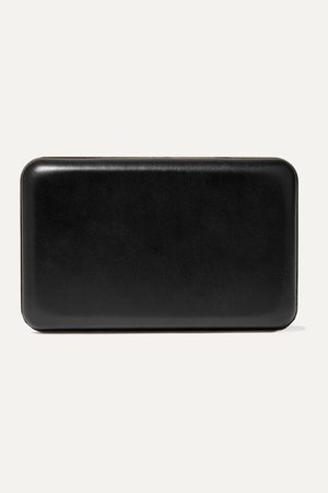 The Row | Moulded leather clutch | NET-A-PORTER.COM