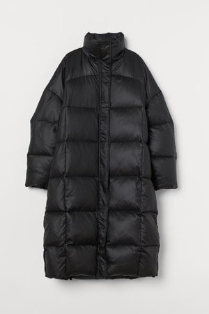 Down Coat - Black - Ladies | H&M US