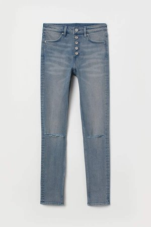 Skinny High Jeans - Blue