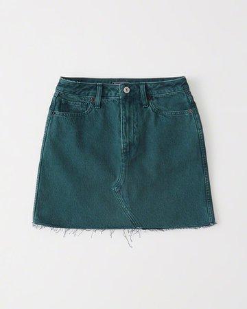 Womens Denim Mini Skirt | Womens Bottoms | Abercrombie.com