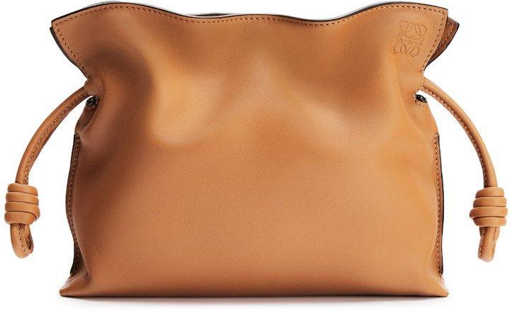 Mini Flamenco Leather Clutch