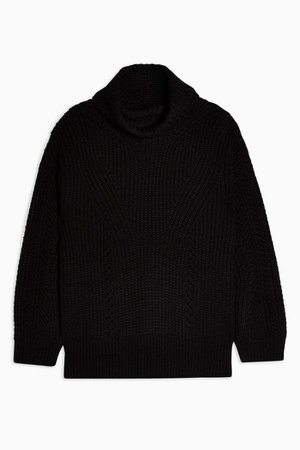 Knitted Roll Neck Jumper | Topshop