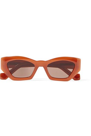 Loewe | Hexagon-frame acetate sunglasses | NET-A-PORTER.COM