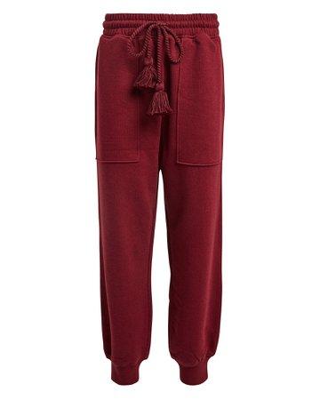 Ulla Johnson | Charley Knit Cotton Joggers | INTERMIX®