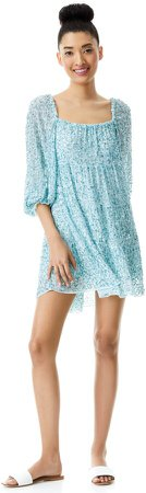 Rowen Sequin Embroidered Mini Dress