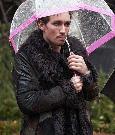 The Umbrella Academy Klaus Hargreeves Shearling Coat