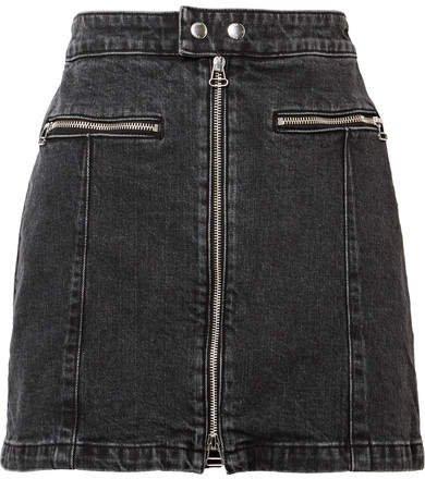 Isabel Denim Mini Skirt - Black