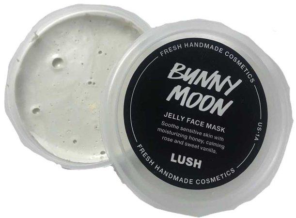 very badly photoshopped lush bunny moon