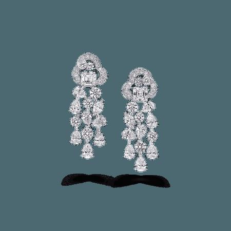 Nuage Earrings, Diamond | Graff