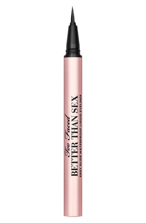 8 eyeliner Too Faced Better Than Sex Easy Glide Waterproof Liquid Eyeliner | Nordstrom