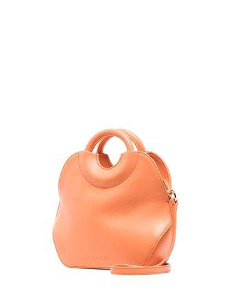 Complét Orange Neomi Micro Leather Tote Bag - Farfetch