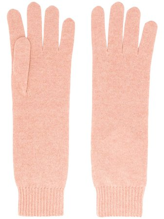 Shop pink Jil Sander cashmere gloves with Express Delivery - Farfetch