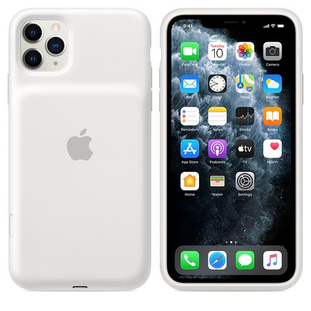 Funda Smart Battery Case para el iPhone 11 Pro Max - Blanco - Apple (ES)