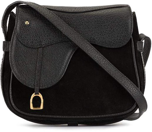 Pre-Owned Saddle cross body bag