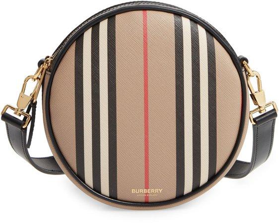 Louise Icon Stripe E-Canvas Bag