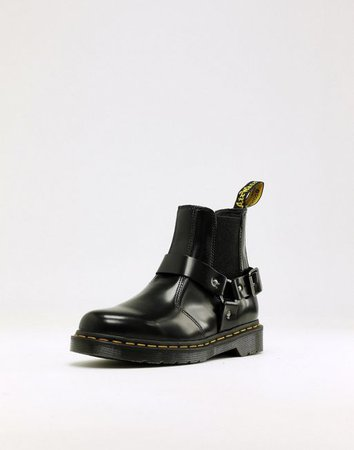 Dr Martens wincox chelsea boots in black | ASOS