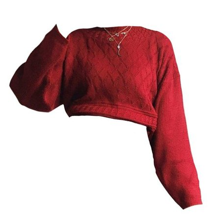 red sweater png