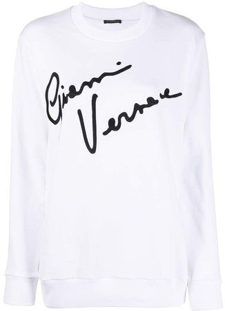 GV Signature crewneck sweatshirt