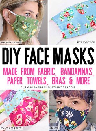 face mask diy - Google Search