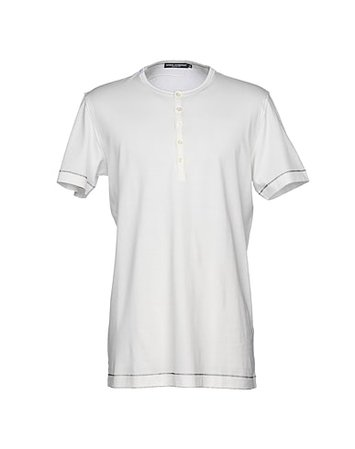 Dolce & Gabbana T-Shirt - Men Dolce & Gabbana T-Shirts online on YOOX United States - 12177787XA