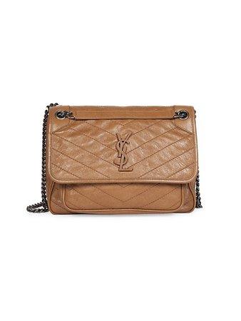Saint Laurent Niki Leather Shoulder Bag | SaksFifthAvenue