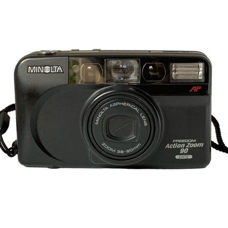 Minolta Freedom Action Zoom 90 35mm film... - Depop