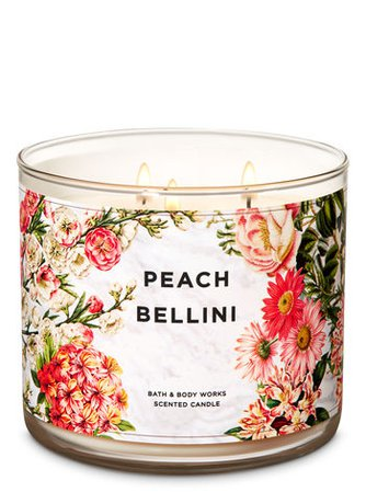 Peach Bellini 3-Wick Candle | Bath & Body Works