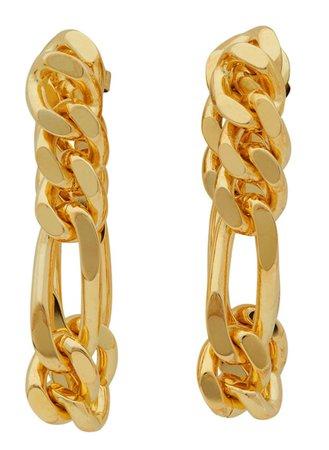 Gold Earrings Bottega Venetta