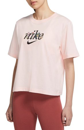 Nike Sportswear Nature Embroidered Graphic Tee | Nordstrom