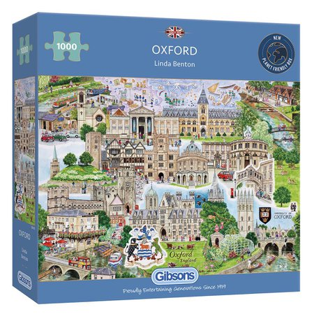 Gibsons Oxford 1000 Piece Jigsaw Puzzle – Gibsons Games