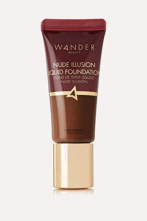 Wander Beauty - Nude Illusion Liquid Foundation - Deep