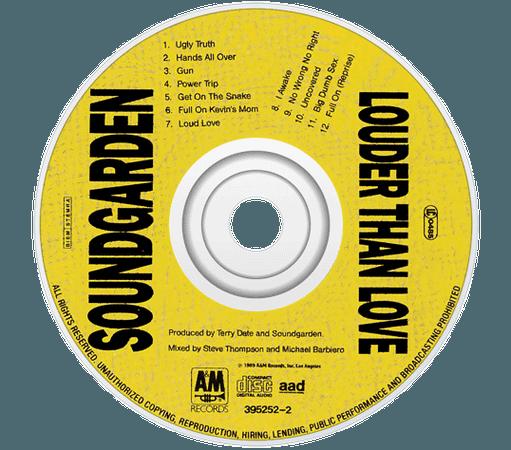 soundgarden cd png yellow filler