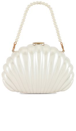 1 House of Harlow 1960 x REVOLVE Clam Shell Clutch in Pearl | REVOLVE | ShopLook