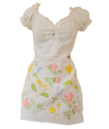 flower dress set