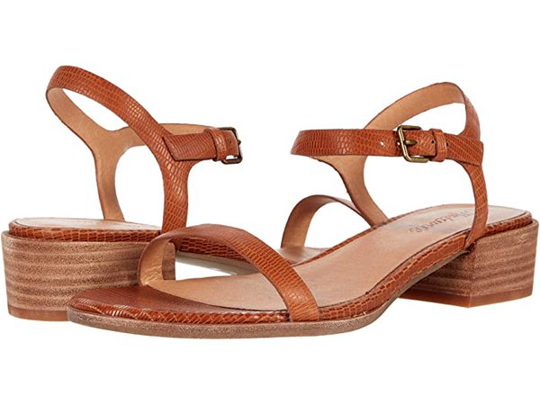 Madewell Norene Sandal in Lizard Embossed Leather | Zappos.com