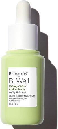 B. Well 100mg CBD + Arnica Flower Soothing Skin & Scalp Oil