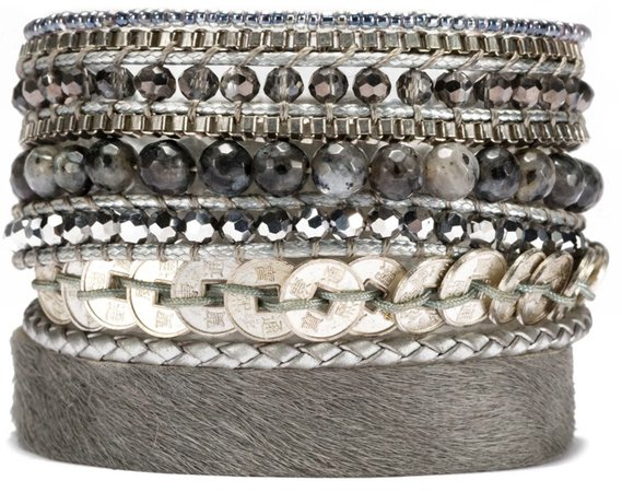 wrap stack bracelet