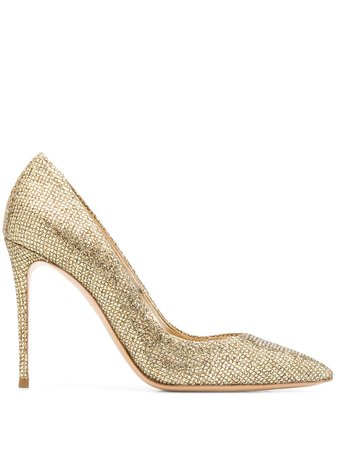 a Casadei sequined Blade pumps with Express Delivery - Farfetch